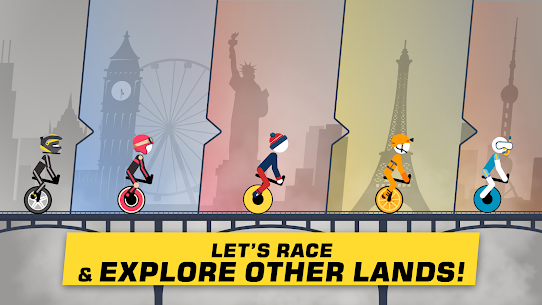 Stickman Racing Mod Apk Download (No Ads + Unlocked) for Android 4
