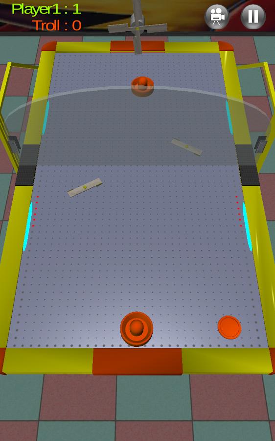 Air Hockey 3D Real - στιγμιότυπο οθόνης
