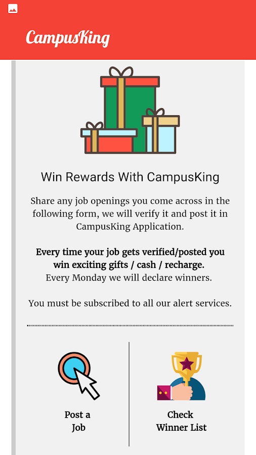 CampusKing-  Referral Drives , Jobs for Engineers- screenshot