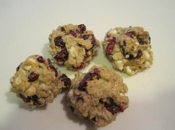 Rose's White Chocolate/Oatmeal and Cherry Craisin Cookies