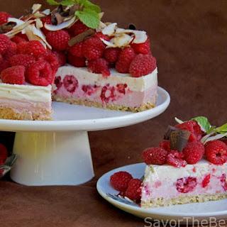 Raspberry-Coconut Yogurt Cake.