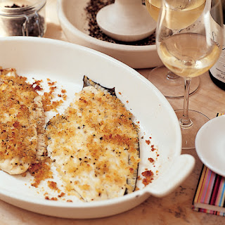Baked Flounder with Parmesan Crumbs Recipe