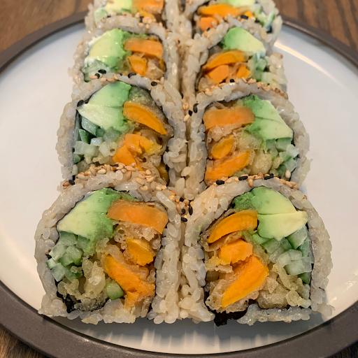Yam tempura roll (8pcs)