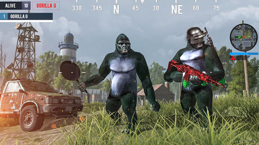 Gorilla G Unknown Simulator Battleground  screenshot 2