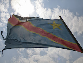Photo: The Congolese flag...