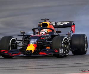 Verstappen houdt bolide onder controle en is ook in regen ruimschoots de snelste, Hamilton skipt laatste training