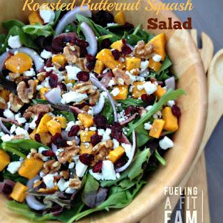Butternut Squash Salad with Maple Rosemary Vinaigrette