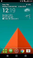 Transparent clock weather Pro 0.99.02.47 APK 2