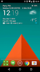 Transparent clock weather Pro V0.99.02.47 Mod APK 2
