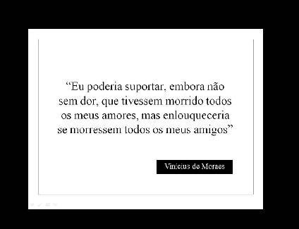 Amigos (Vinicius de Morais)