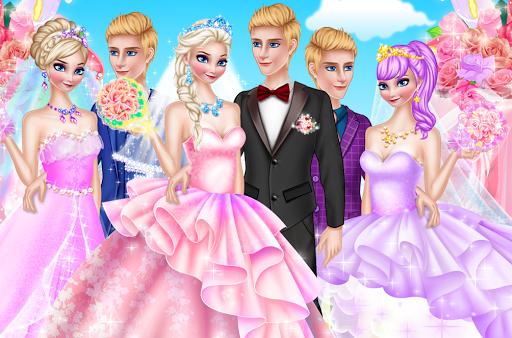 웨딩 화장 및 드레스