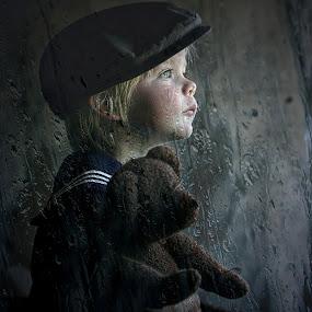 Rainy day by Pirjo-Leena Bauer - Babies & Children Children Candids