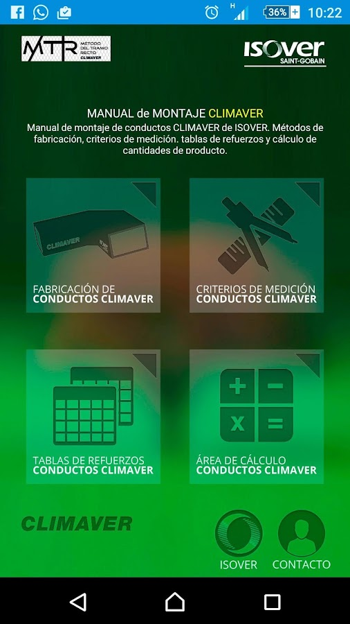Manual de montaje CLIMAVER: captura de pantalla