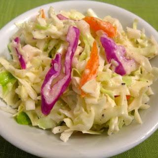 Vegan Coleslaw.