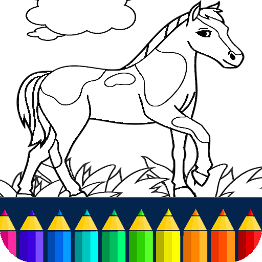 Horse Coloring Book (game)