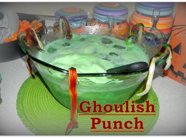 Ghoulish Green Punch Recipe