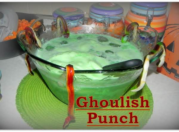 Ghoulish Green Punch