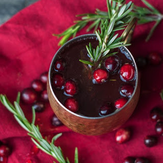 Rosemary and Cranberry Moscow Mule.