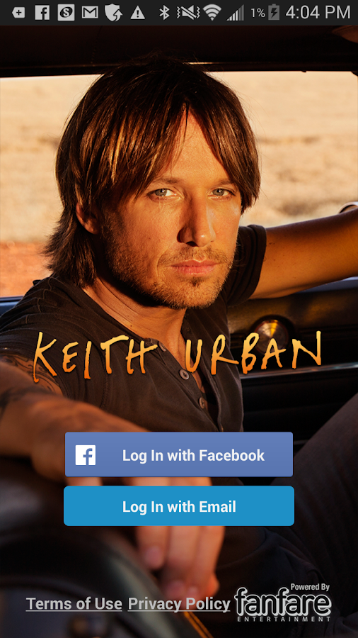 Keith Urban- screenshot