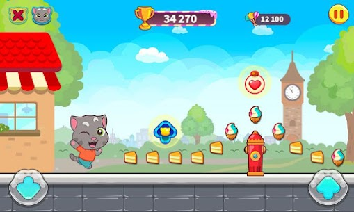 Talking Tom Candy Run Mod Apk Download (Unlimited Everything) for Android 1