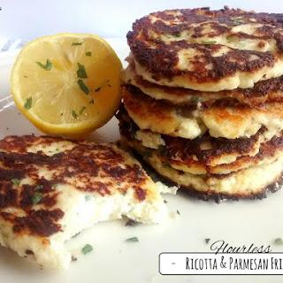 Ricotta & Parmesan Fritters