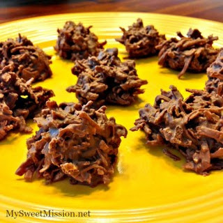 2 Ingredient Chocolate Haystacks