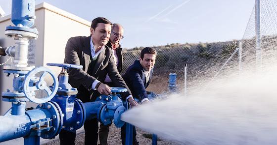 La Diputación Provincial mejora las redes hídricas de la provincia