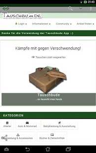 Tauschbude DE- screenshot thumbnail
