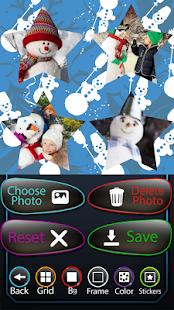 Sněhulák fotografická koláž - náhled