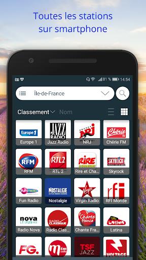 France Radios : u00c9couter Radio en Direct Gratuit 2.2.5 screenshots 1