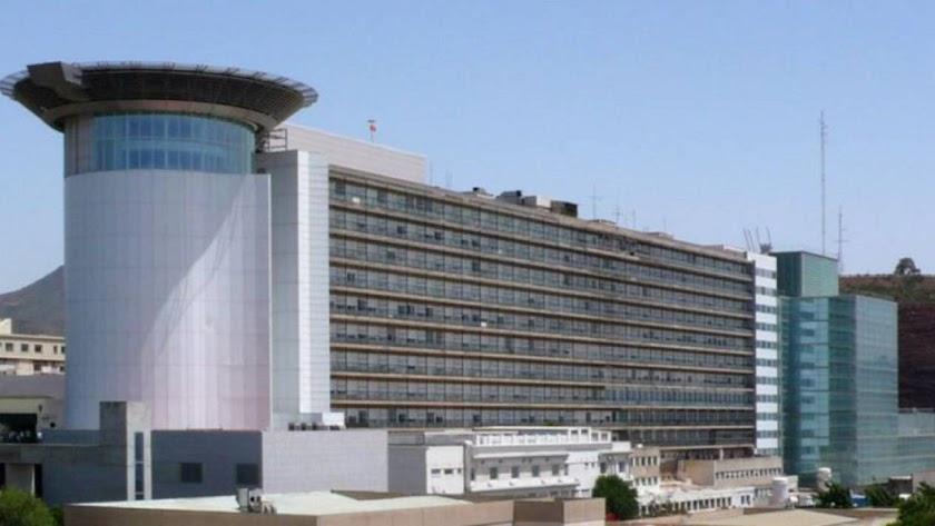 Fachada del Hospital Universitario de Canarias, el principal centro hospitalario en el municipio de San Cristóbal de La Laguna.