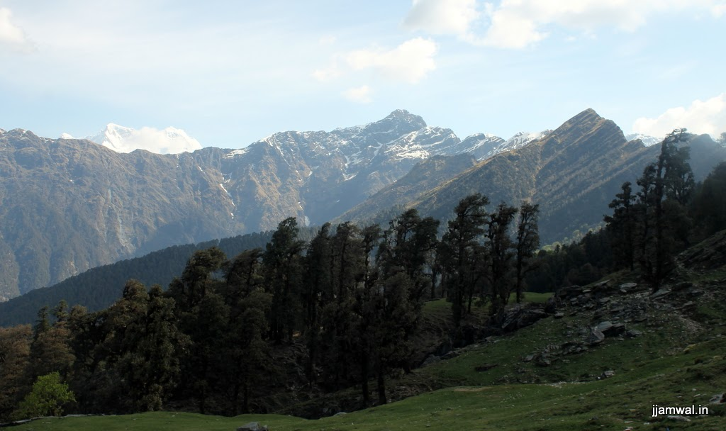 View from trekking route