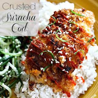 Panko Crusted Sriracha Cod.