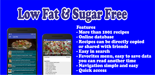 Low fat and sugar free recipes apps on google play forumfinder Image collections