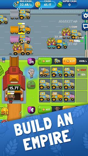 Idle Farm Tycoon - Merge Simulator apkpoly screenshots 6