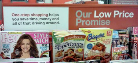 Photo: Standing in line I read their low price promise.