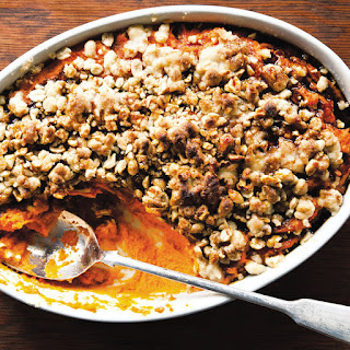 Sweet Potato Casserole with Sorghum