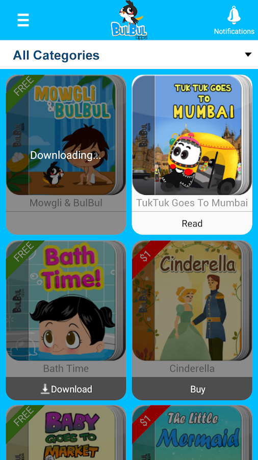 Bed Time Kids Stories & Rhyme- screenshot