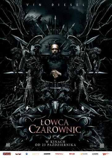 Przód ulotki filmu 'Łowca Czarownic'