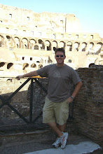 Photo: Brave warrior at the Colosseum in Rome