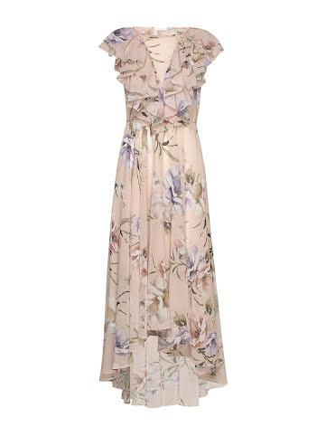 Venetia Dress, pastel floral