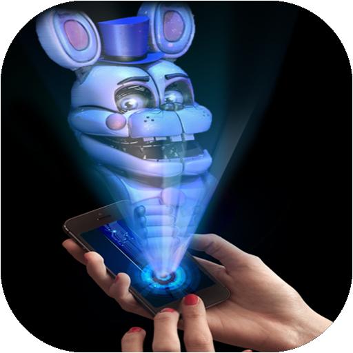 Hologram Fred 3D Laser Joke Simulator fnaf
