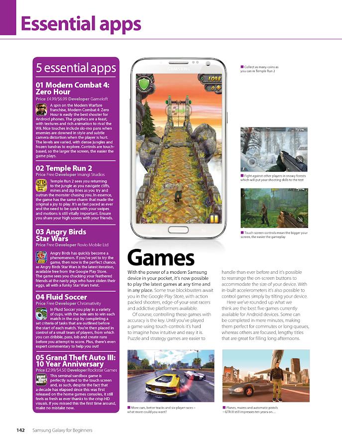 Samsung Galaxy for Beginners- screenshot