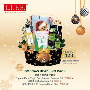 Omega-3 Headling Pack