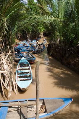 Каналы в дельте Меконга