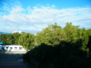 Photo: bright sunshine in early winter 2012, from QRRS Dorms where benzrad 朱子卓 preparing his new family, Royal China.