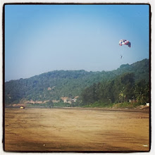 """Photo: Photo captioned """"#Paragliding. Another one off my bucket list. Woohoo! What an experience! Closest I'll get to flying. Not #MumbaiLocal #Twitter"""" uploaded to Facebook on December 16, 2013 at 12:10AM"""