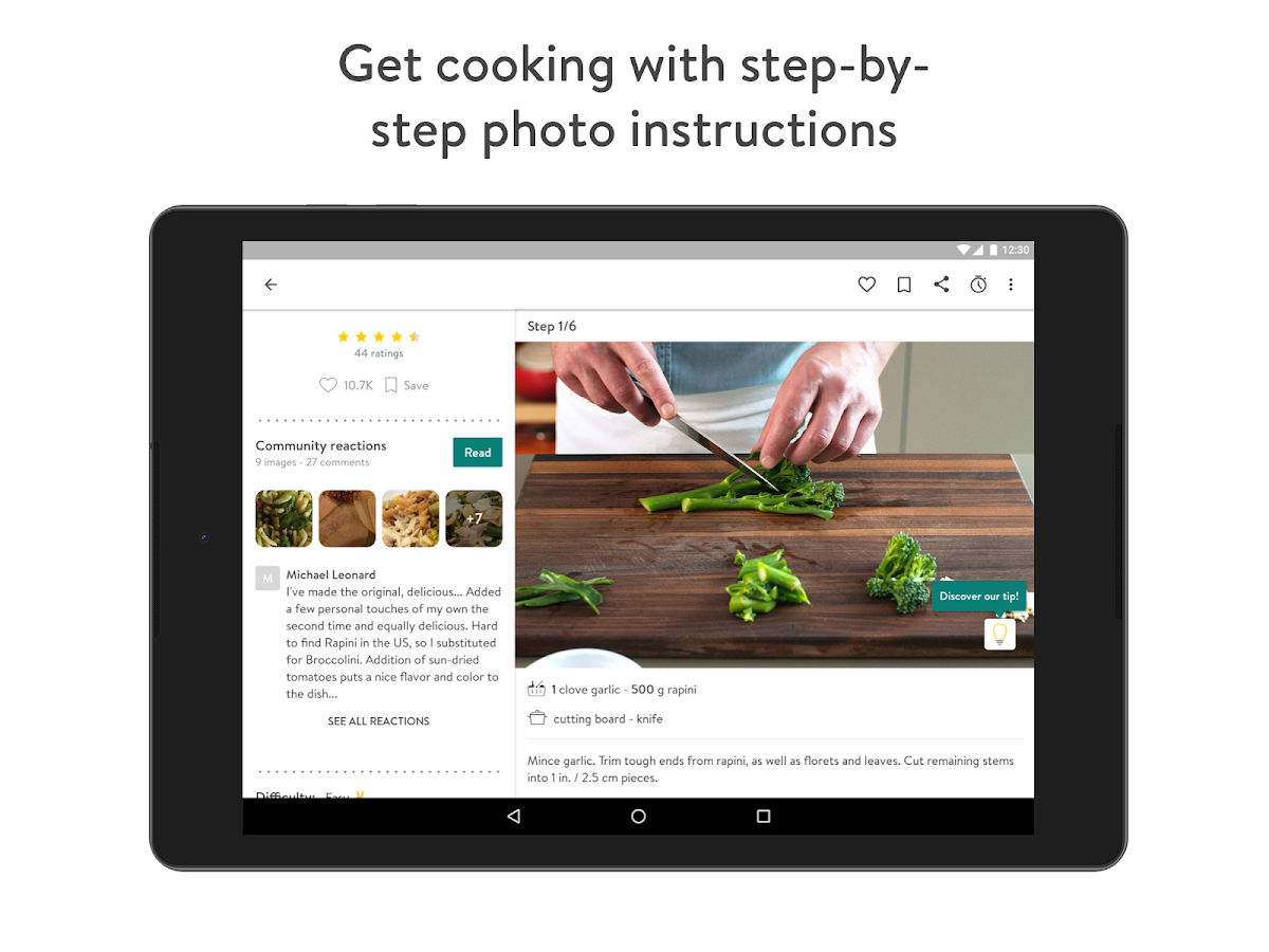 Kitchen Stories - Recipes & Cooking- screenshot