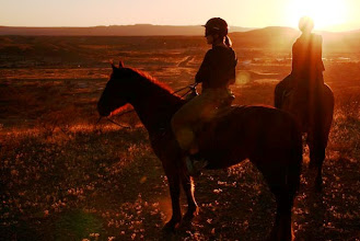 Photo: Sunset rides leave all with lasting memories.