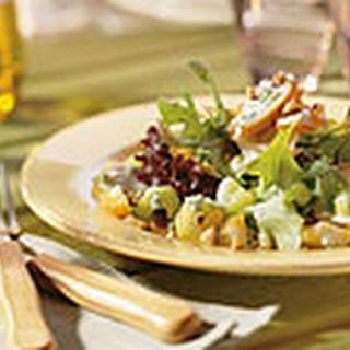 Salade Met Gerookte Kip, Gorgonzola En Hazelnoot